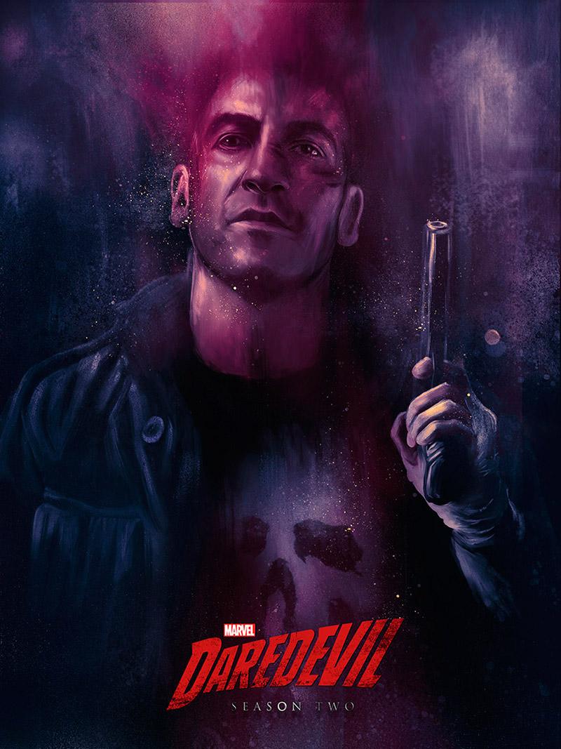 Netflix presenta nuevo póster The Punisher