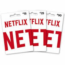 Gift Card Netflix