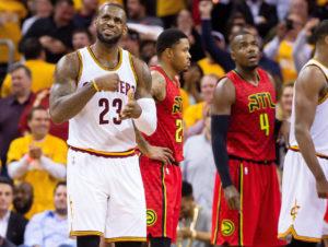 Lebron James es el tercer mejor anotador histórico en los Playoffs de la NBA